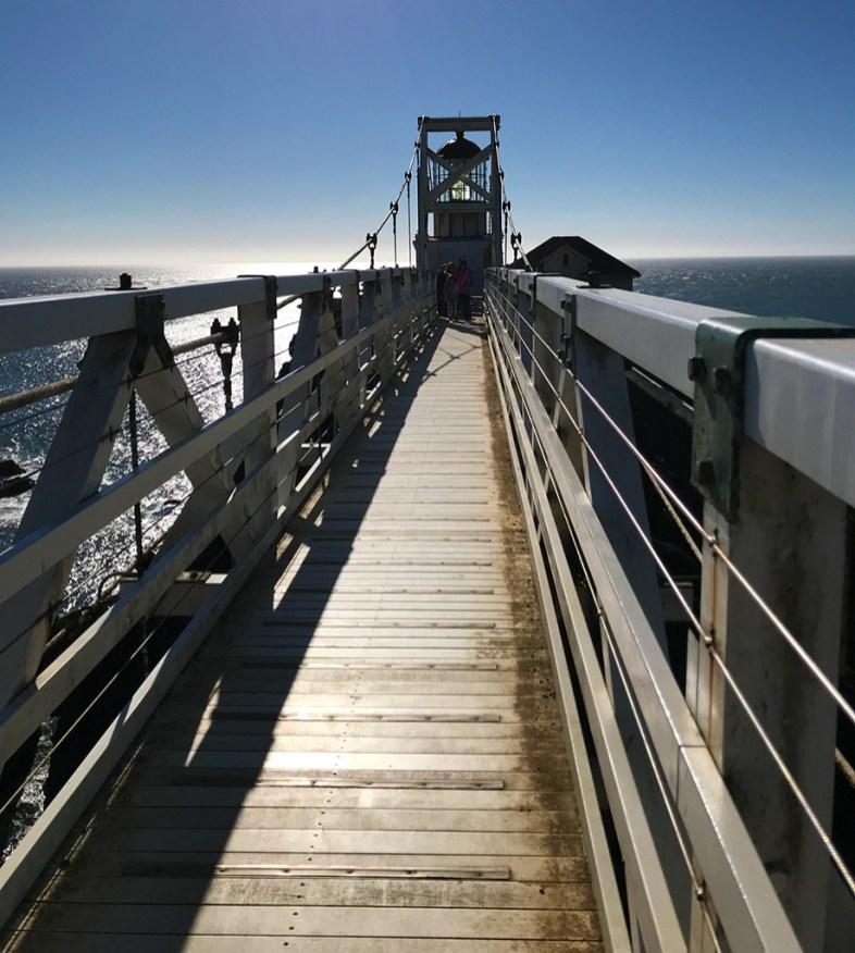 Suspension Bridge to Point Bonita Lighthouse