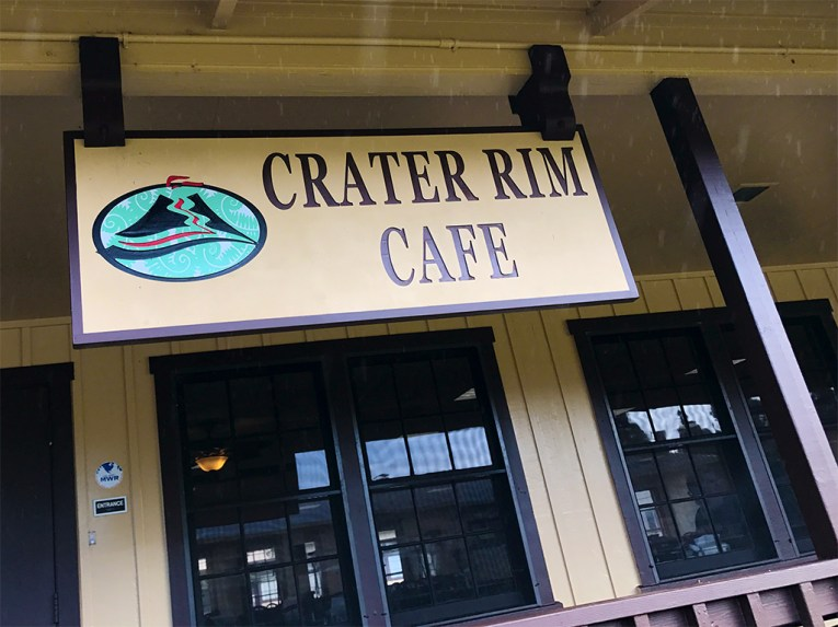 Crater Rim Cafe at Kilauea Military Camp