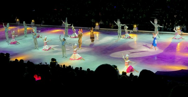 Disney On Ice in Sacramento with Beauty and the Beast