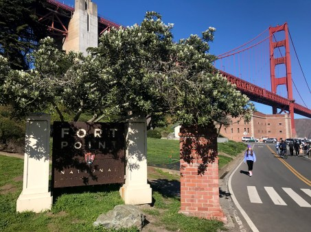 Fort Point national Historic Site Entrance