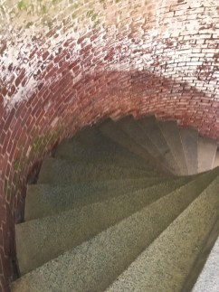 Granite Spiral Staircase