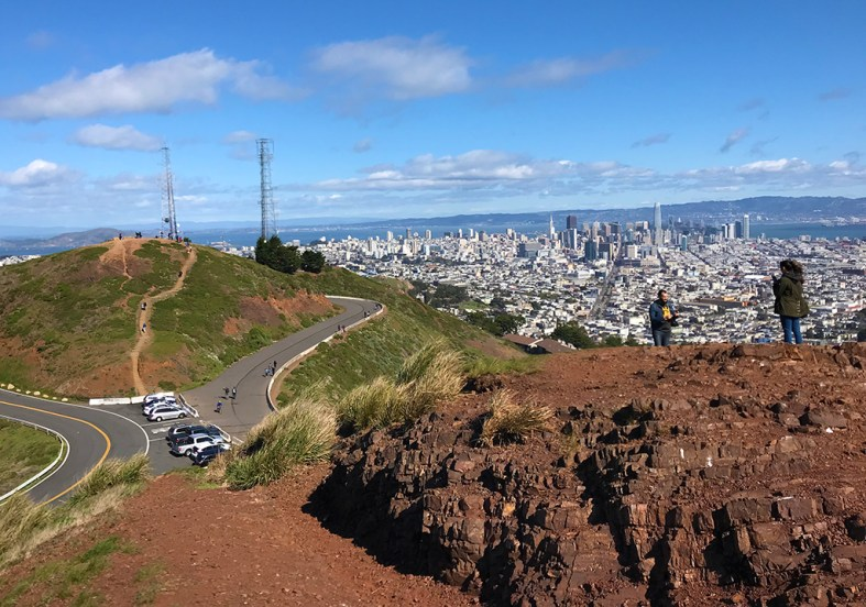 Hiking Trails Through Twin Peaks Park