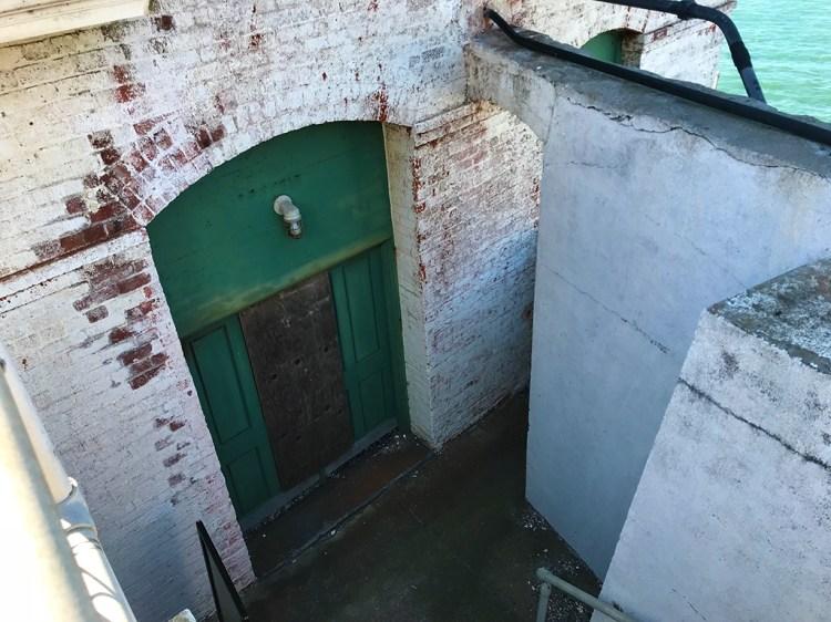 Old Door at Point Bonita Lighthouse