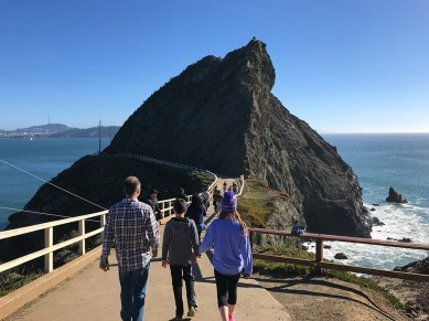 Point Bonita Trail in the Marin Headlands