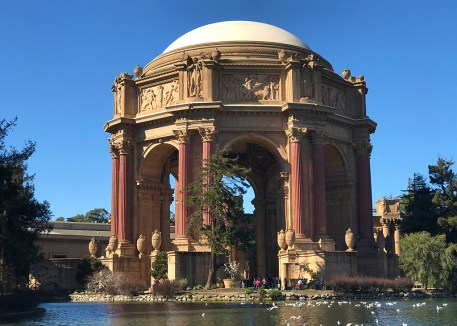 San Francisco Palace Of Fine Arts Park And Lagoon