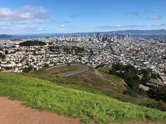 Twin Peaks Views of Downtown San Francisco