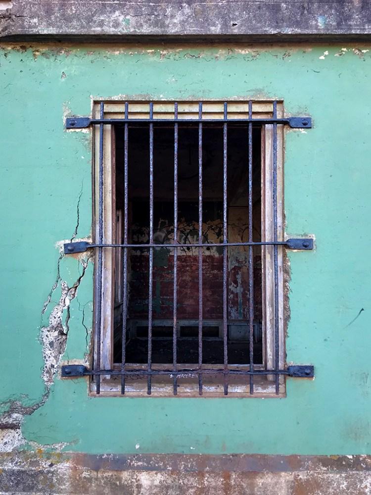 Window Bars at Battery Mendell
