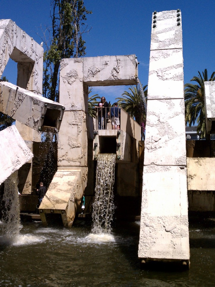 Vaillancourt Fountain in San Francisco