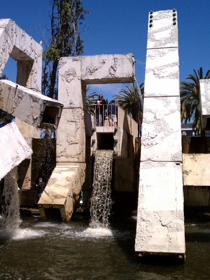 Vaillancourt Fountain in San Francisco