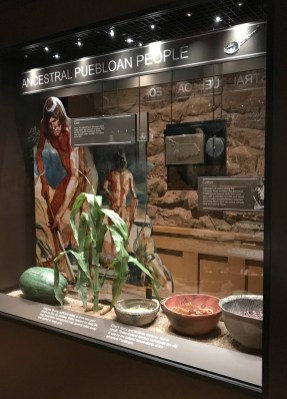 Ancestral Puebloan People Exhibit at the Tusayan Museum