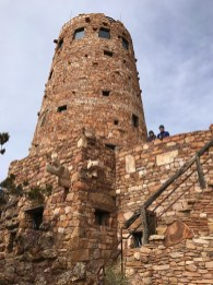 Desert View Watchtower Lower Level Lookout Deck