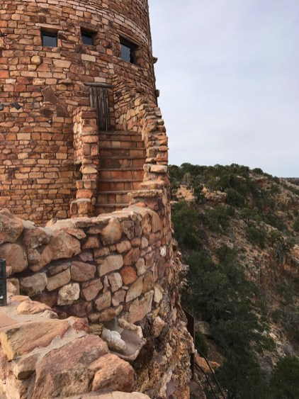 Desert View Watchtower Outdoor Staircase