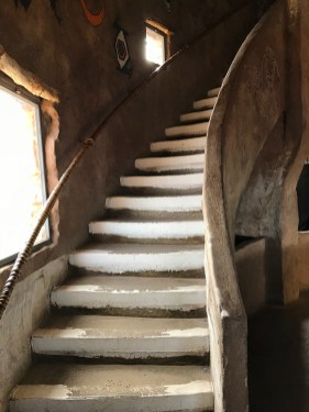 Staircase Inside the Watchtower
