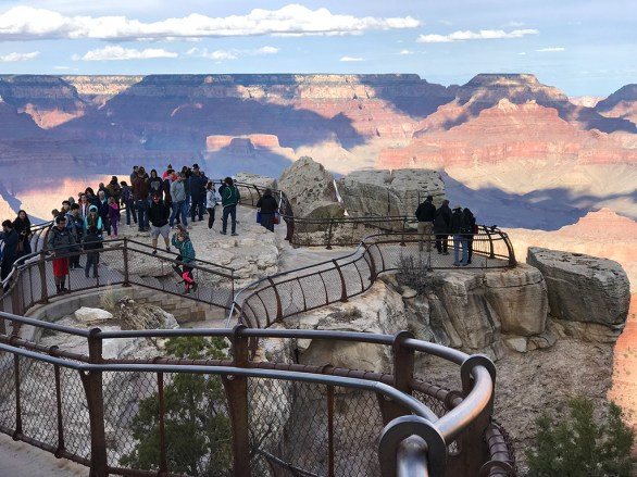 Mather Point Overlook at the Grand Canyon