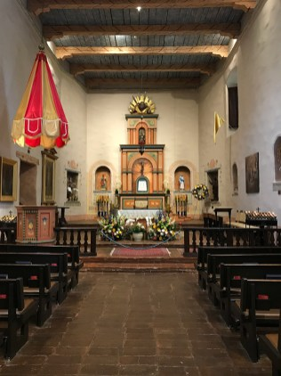 Mission San Diego Church Altar