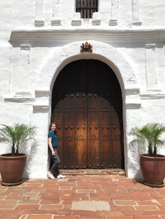 Natalie Bourn at Mission San Diego