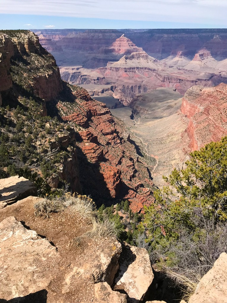 Views of Pipe Creek From the South Rim Trail