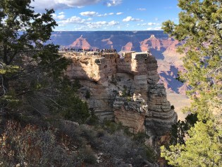 View of Mather Point From The South Rim Trail