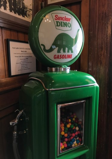 Antique Gas Pump Candy Machine