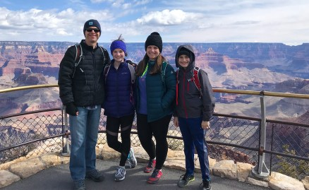 Bourn Family at Maricopa Point Off Hermit Road