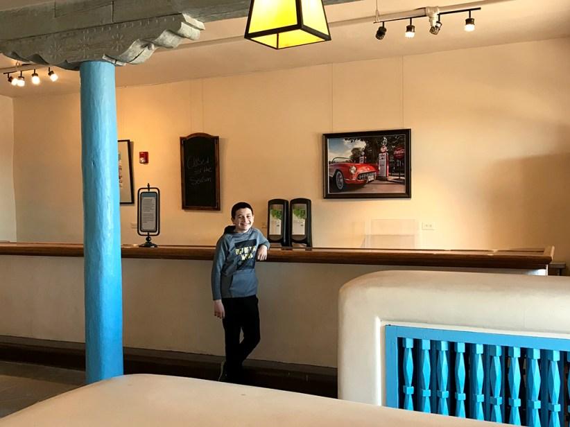 Carter Bourn at the old Painted Desert Inn Bar