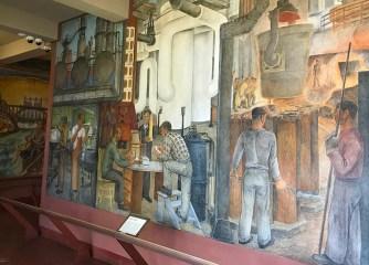 Coit Tower Historic Murals