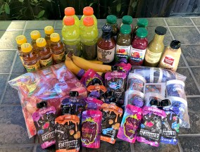 Drinks, Sauces, Odwalla, Yogurt, Bananas, Apples, Squeeze Pouches