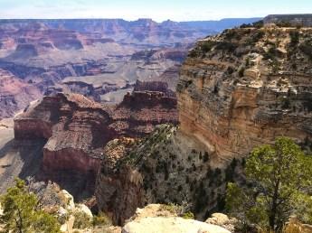 Grand Canyon South Rim Trail Views