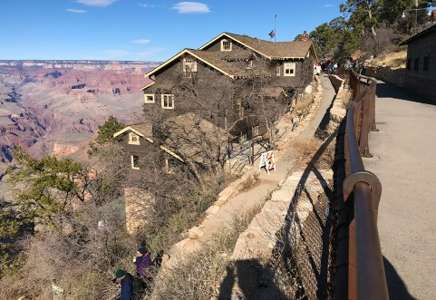 Kolb Studio and the Bright Angel Trail