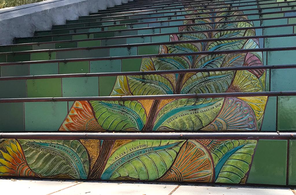 Lincoln Park Tiled Steps In San Francisco Inspired