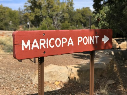 Maricopa Point Sign