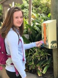 Natalie Bourn Using the San Francisco Zoo Key