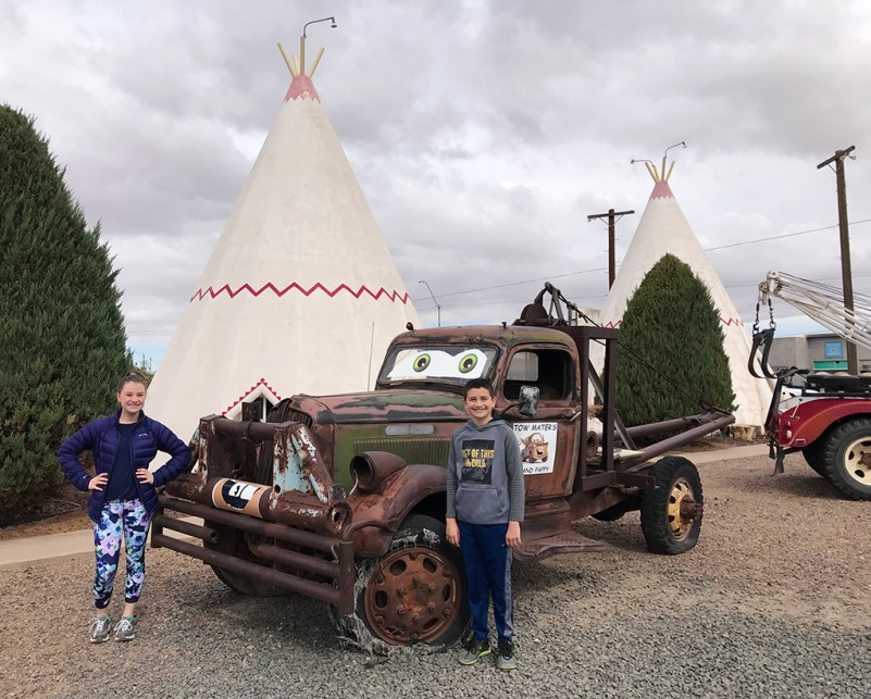 Mater's Grand Daddy at the Holbrook Wigwam Motel