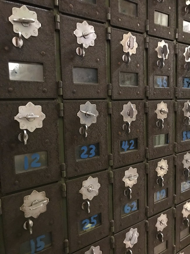 Old Lock Boxes