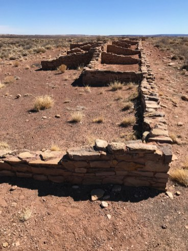 Puerco Pueblo Ruins In Arizona