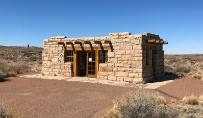 Petrified Forest Old Entrance Station