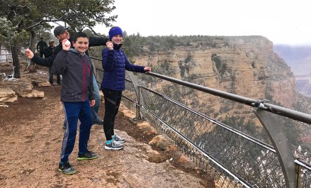 Throwing Snowballs Into The Grand Canyon