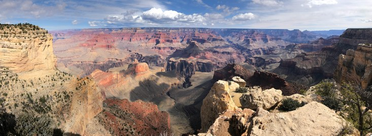 View of Grand Canyon From Maricopa Point Off Hermit Road