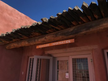 Petrified Forest National Park Visitor Center at the Painted Desert Inn Museum