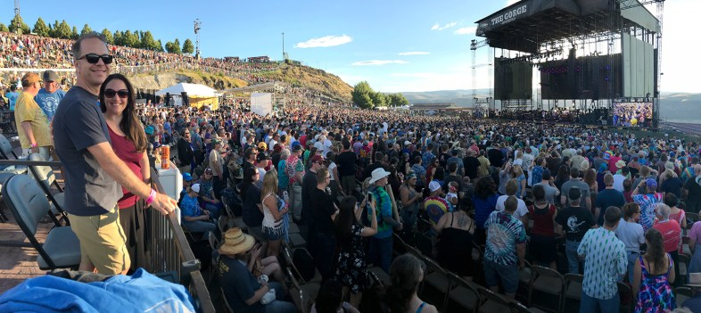 Brian and Jennifer Bourn At Dead & Company at The Gorge Amphitheater