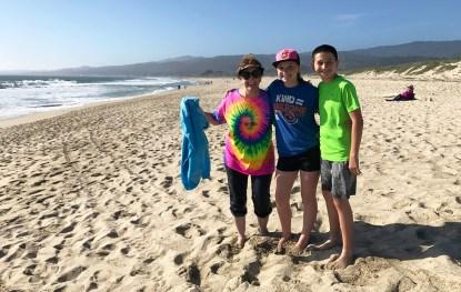 Camping at Francis State Beach