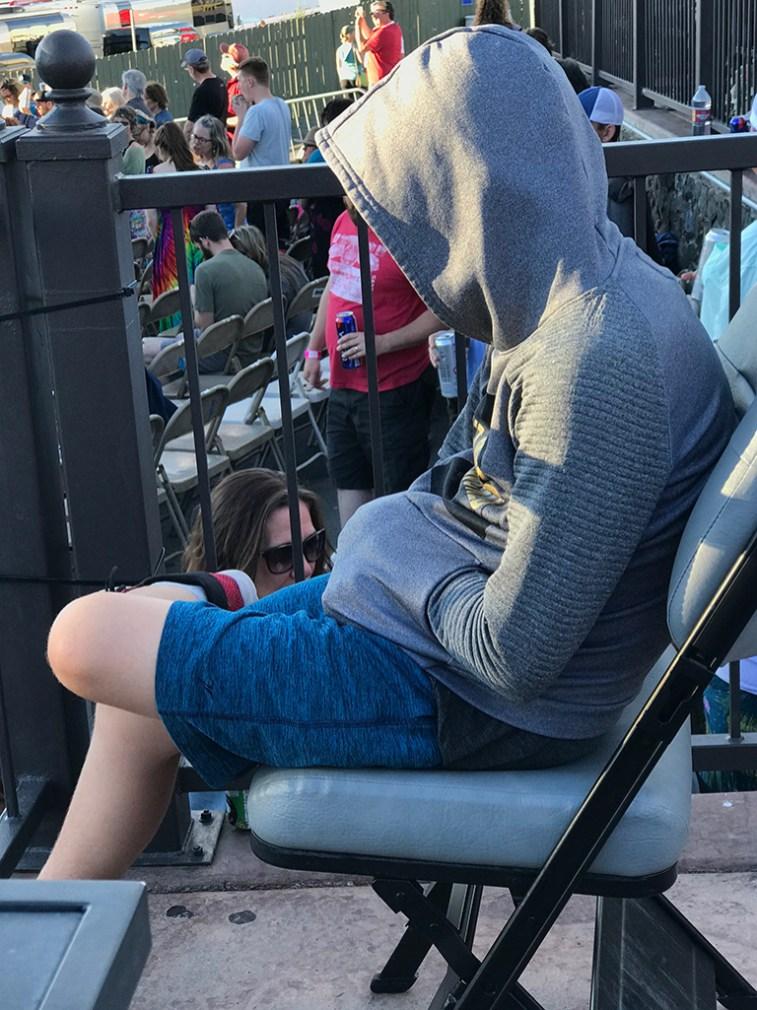 Carter Bourn Sleeping Through Concerts