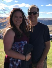 Brian and Jennifer Bourn at The Gorge In 2018