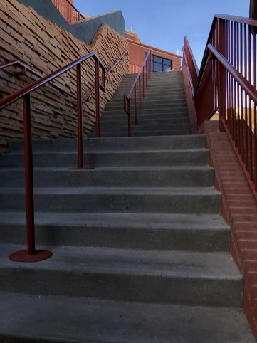 Visitor Center Stairs