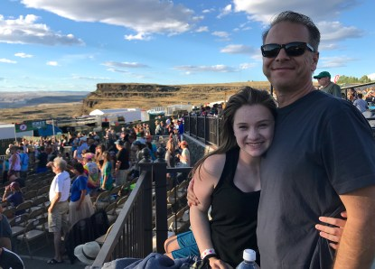 Natalie and Brian Bourn at the Dead & Company Concert At The Gorge 2018