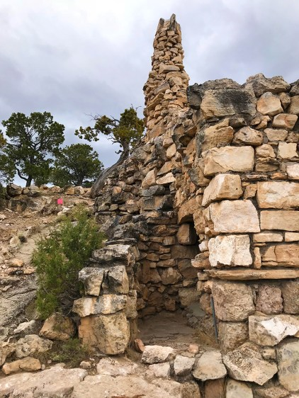 Stone Rubble Chimney at Hermit's Rest