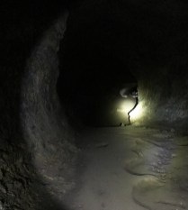 Walking Inside Lava River Cave at Newberry National Volcanic Monument