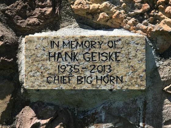 Chief Big Horn Plaque