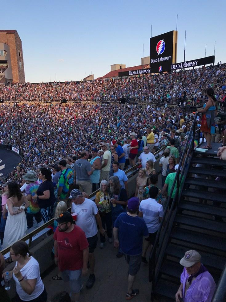 Deadheads at Folsom Field 2018