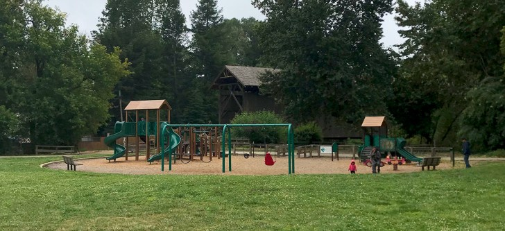 Playground at the Felton Covered Bridge Park